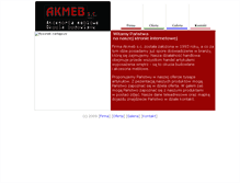Tablet Preview of akmeb.net